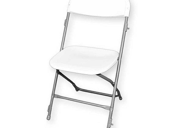 Chaise pliante beige / grise