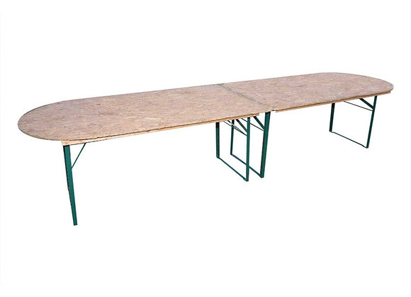 Table ovale 18/20 personnes