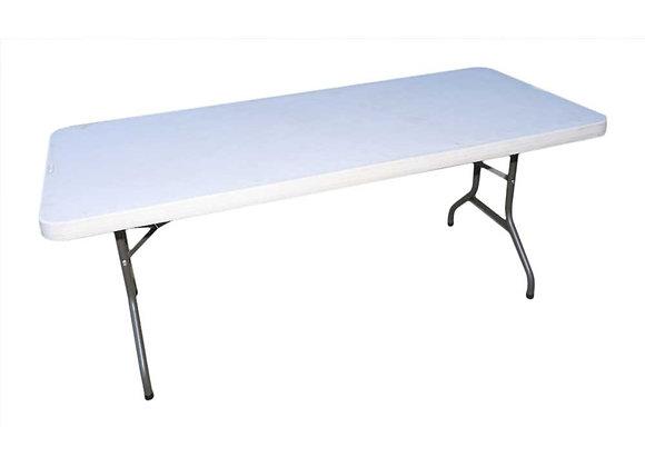 Table rectangulaire plastique