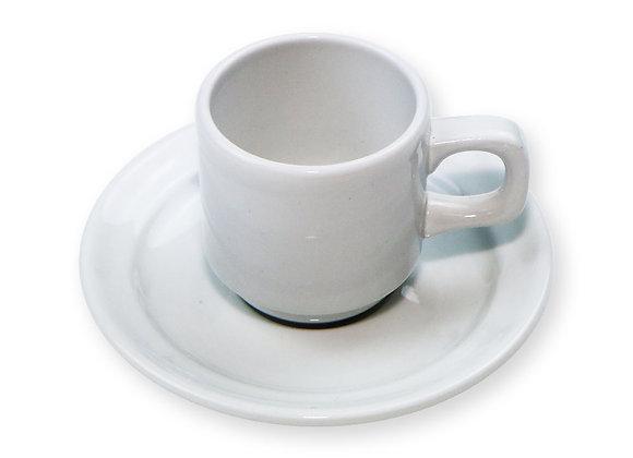 Tasse café 9cl + sous tasse - oslo