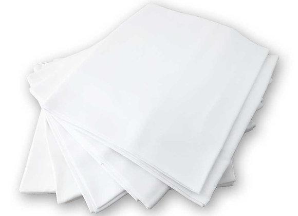 Nappe blanche en tissu 178cm x 274cm