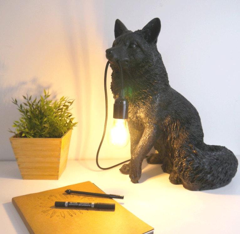 KITSUNE, une lampe de renard design par Nuuy Design