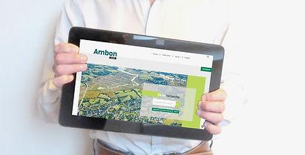 HIMAKU vient de mettre en ligne le nouveau site internet de la mairie d'Ambon dans le Morbihan