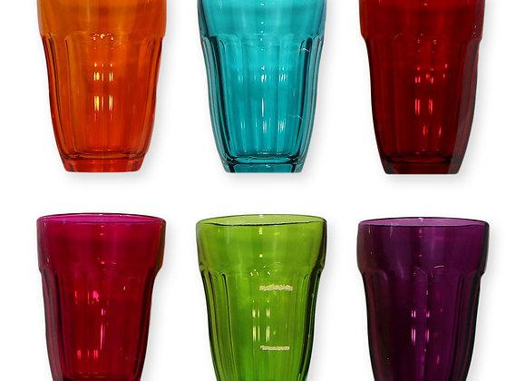 Verre Atlas mix de couleurs 23cl