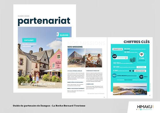 HIMAKU, agence web à Vannes, vous accompagne dans la création de vos éditions : flyers, brochures, affiches...