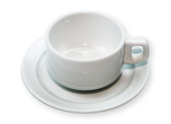Tasse thé 15cl + sous tasse - oslo