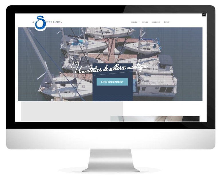 HIMAKU, agence web à Vannes, vous fait découvrir le nouveau site internet de cette sellerie nautique