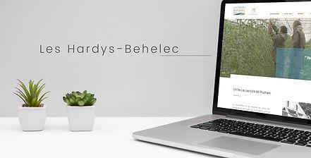 HIMAKU, agence web à Vannes, a développé le site internet des Hardys Béhélec dans le Morbihan