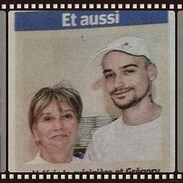Valérie & Greg de pizza Greg à Rans, cuisinière & gérant