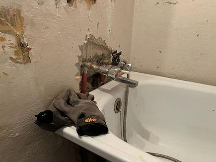 przeróbka instalacji wodnej