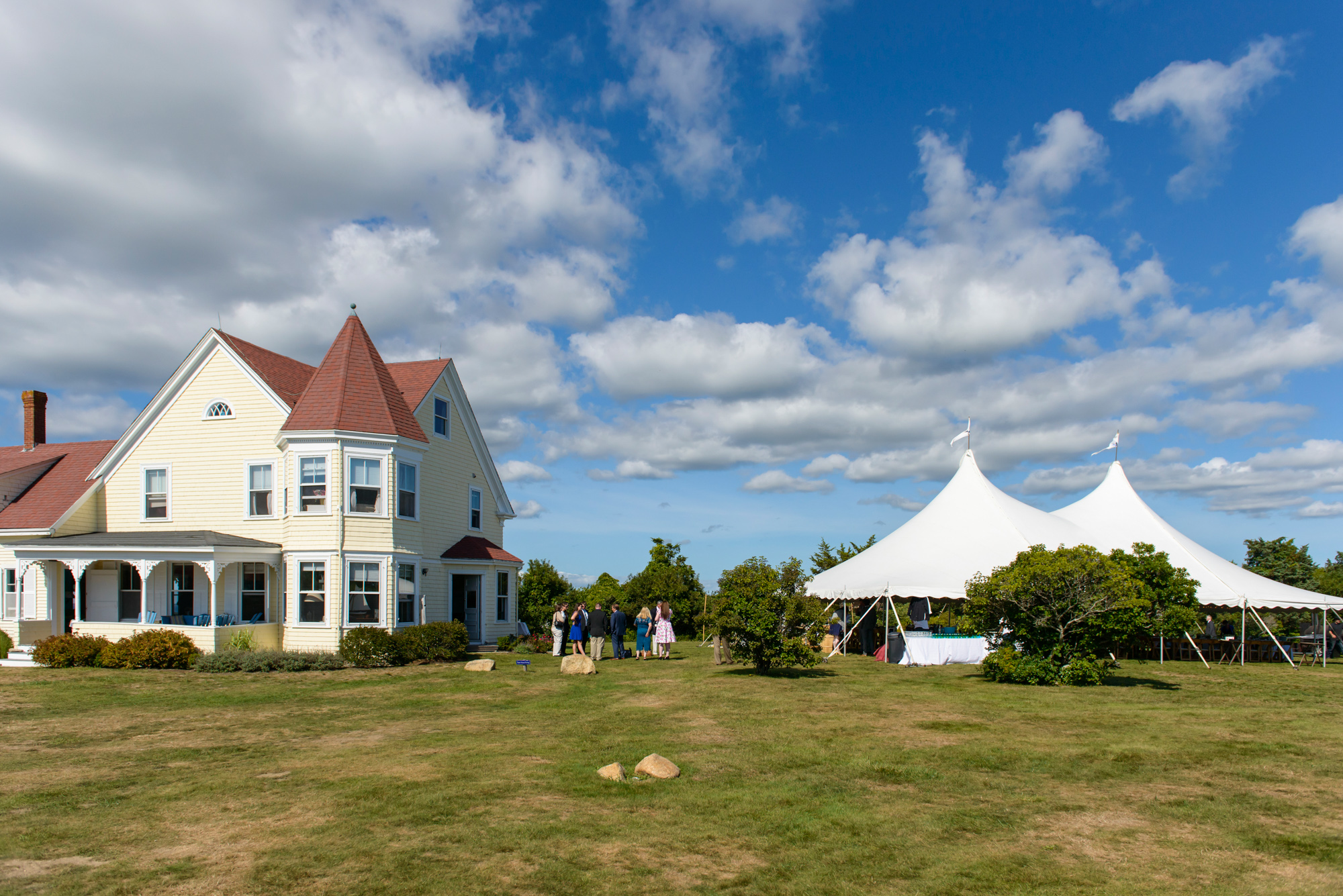 The Tower House in Chilmark martha's vineyard wedding venues photo by David Welch Photography