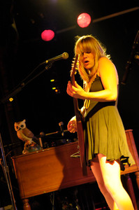 Grace Potter at Outerland in 2008 photo by David Welch