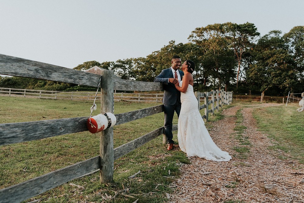 Beach Plum Inn Wedding on Martha's Vineyard photo by David Welch Photography