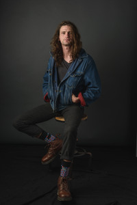 studio headshot of Elijah Berlow at the David Welch Photography photo studio on Martha's Vineyard