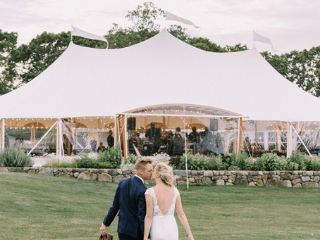 Taylor and Ben's Farm Neck Wedding