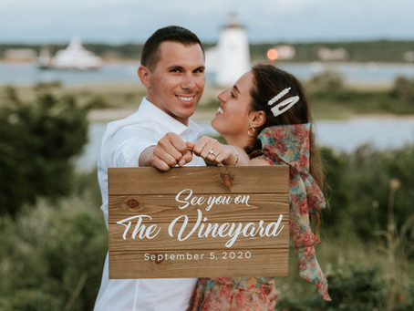 Charlotte & Brad's Edgartown Engagement