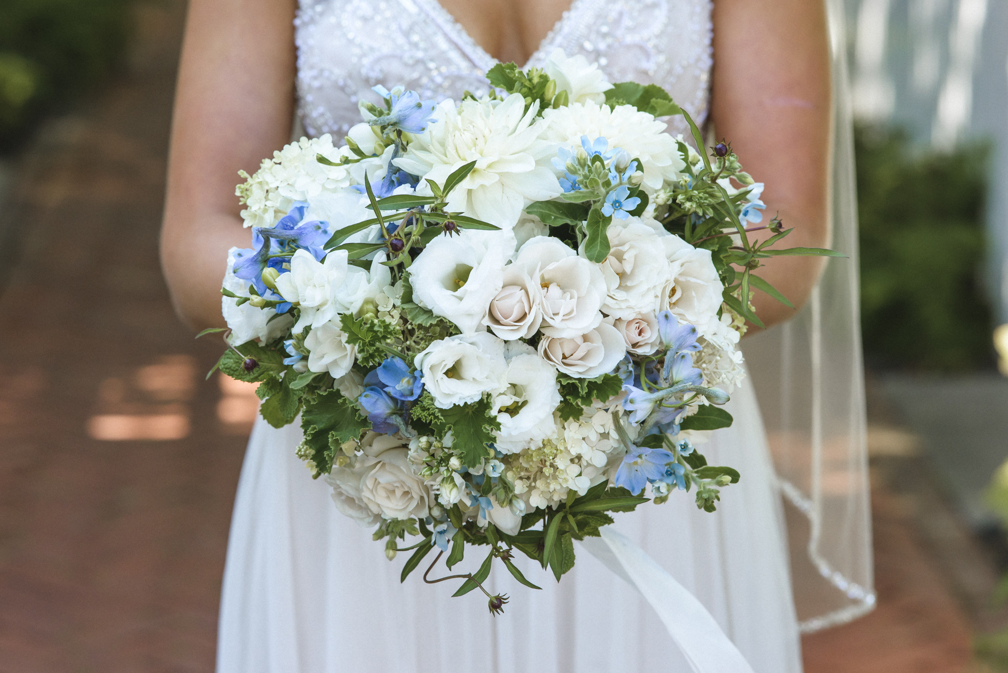 A Morrice Florist bridal bouquet photo by David Welch Photography