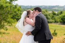 A Chilmark wedding ceremony on Martha's Vineyard photo by David Welch Photography