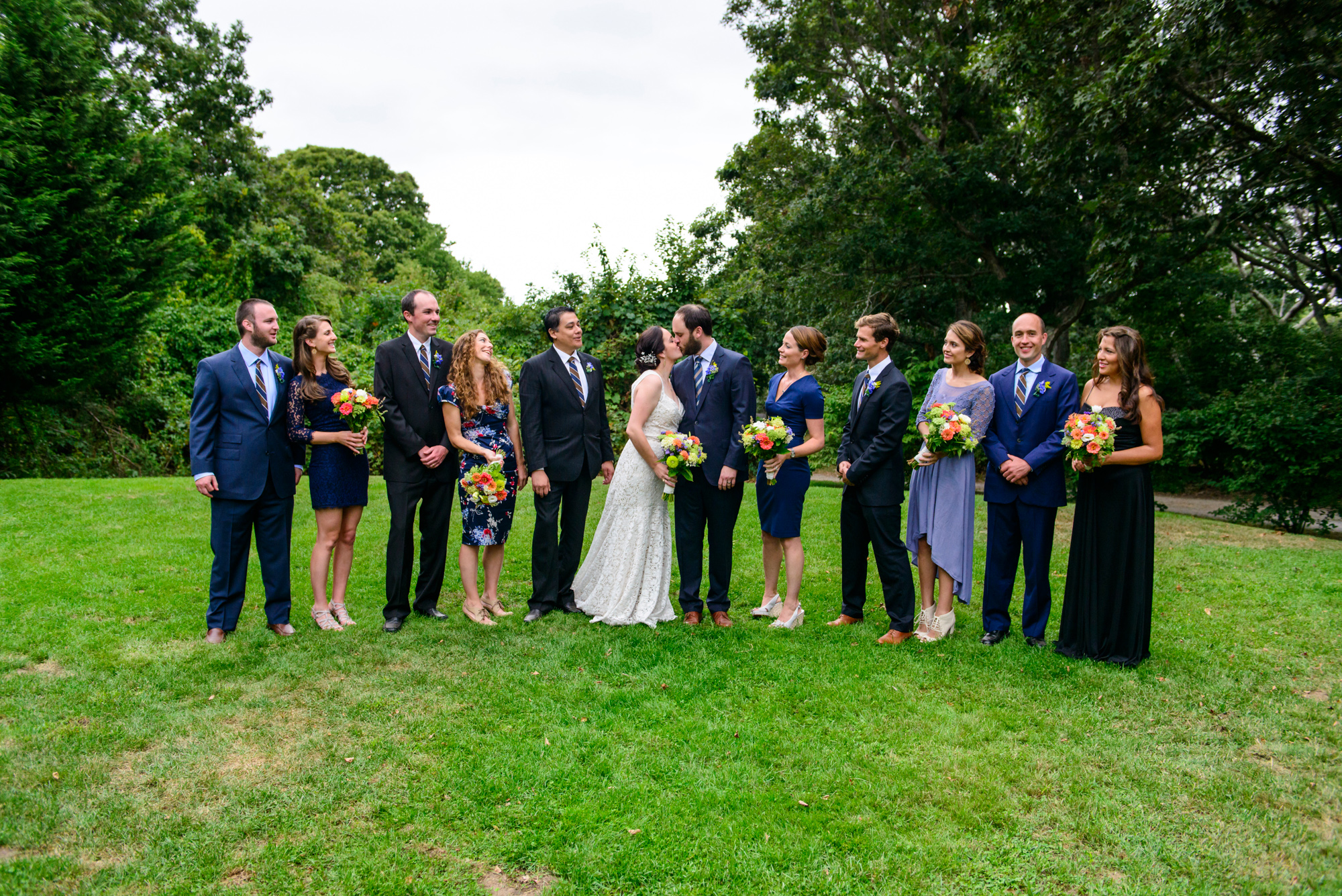 Formal wedding photos at The Beach Plum Inn & Restaurant photo by David Welch Photography