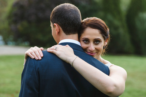 Molly and Eric's Dr. Daniel Fisher House and Garden wedding on Martha's Vineyard photo by David Welch Photography