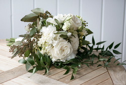 A bridal flower bouquet photo by David Welch Photography
