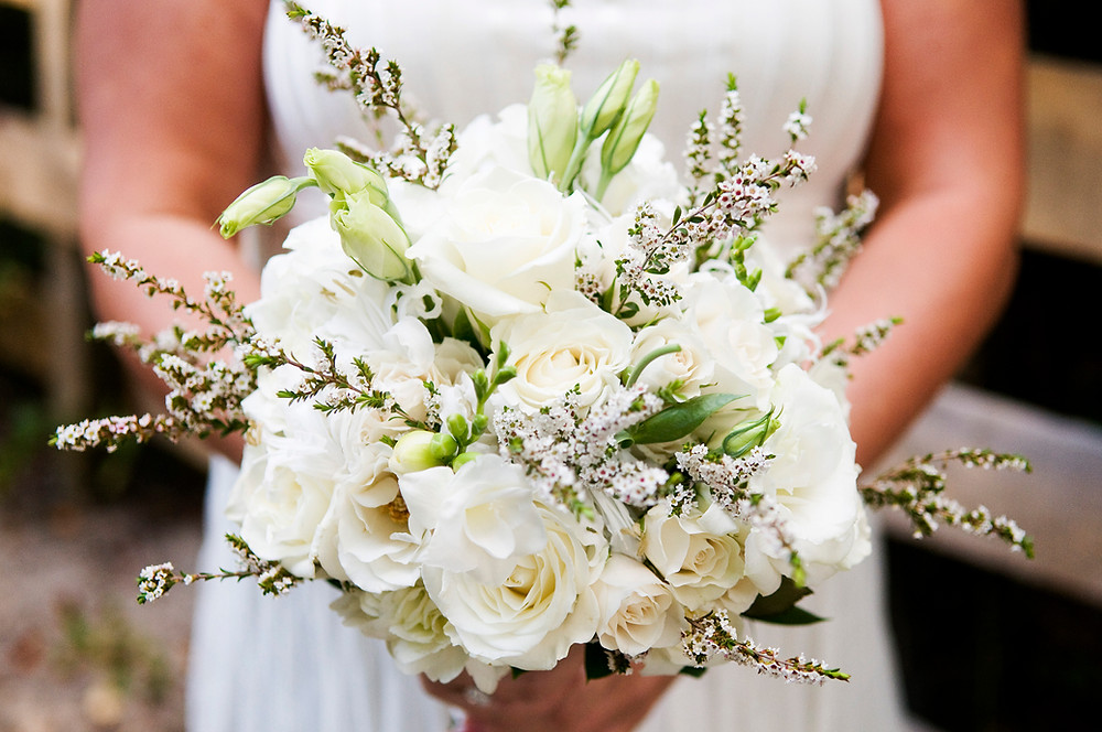A bridal bouquet photo by David Welch Photography