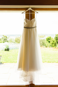 Dress hanging photo by David Welch Photography