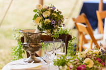 Beautiful floral details in Chilmark photo by David Welch Photography