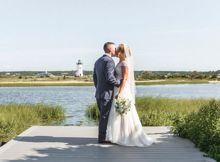 Danielle and Tim's Harbor View Hotel Wedding