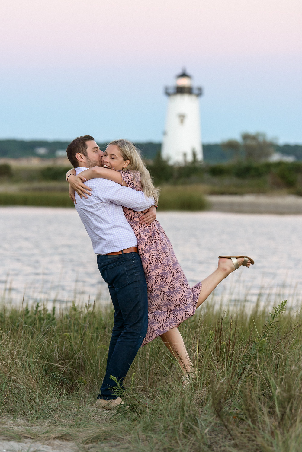 Engagement photos martha's vineyard photo by David Welch Photography