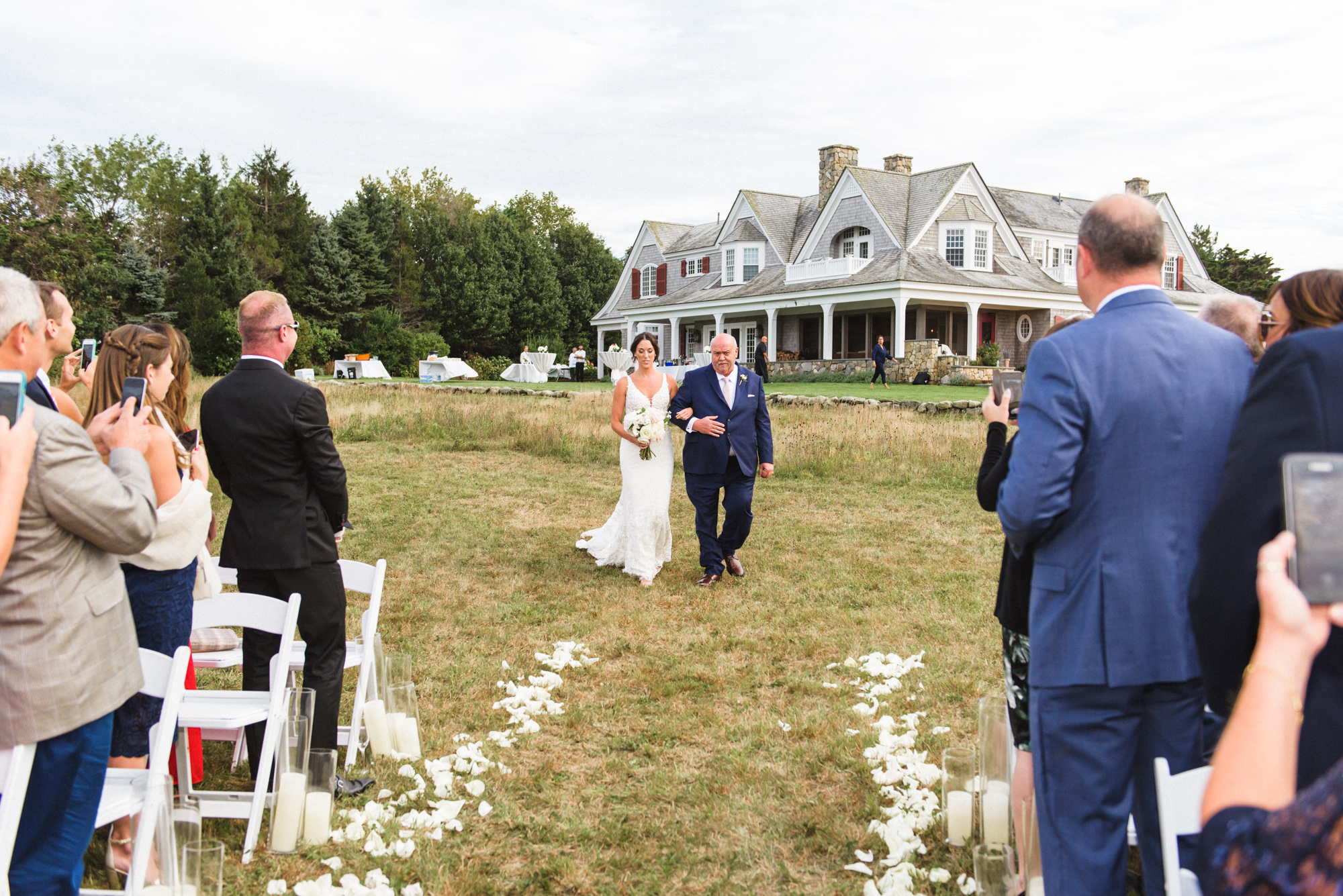 A private wedding celebration on Martha's Vineyard photo by David Welch Photography