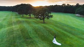 Sarah & Ryan's Farm Neck Golf Club Wedding