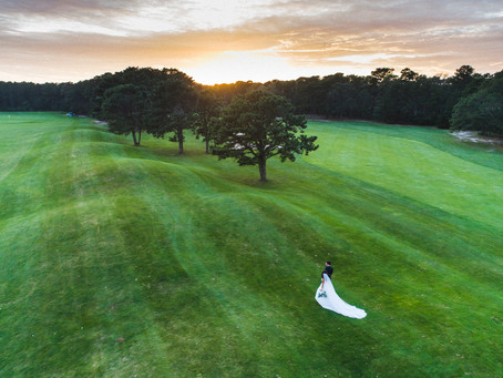 Sarah & Ryan's Farm Neck Golf Club Wedding