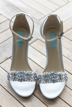 The bride's shoes photo by David Welch Photography