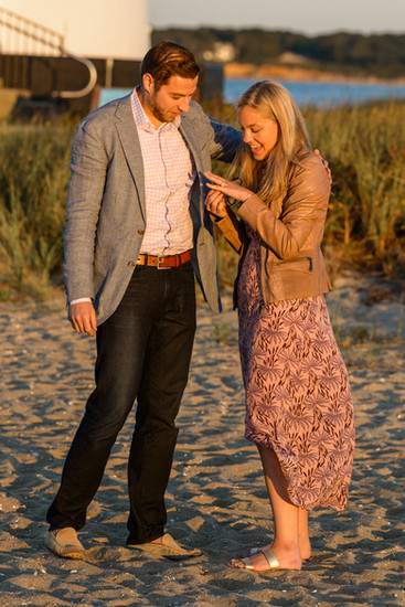Proposal photographer on Martha's Vineyard David Welch Photography