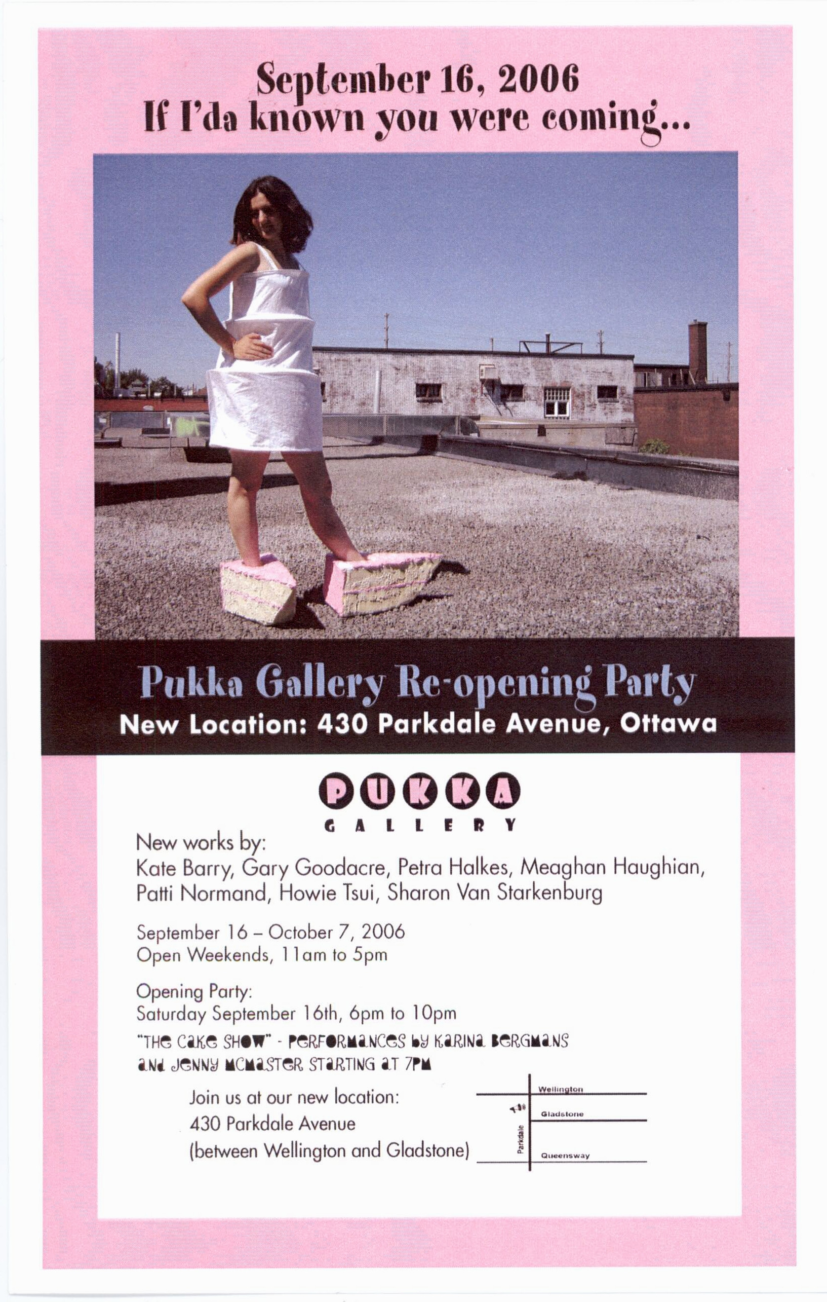 Cake Show at Pukka