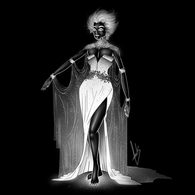 Inktober - Hora De Las Brujas - 10 x 10¨