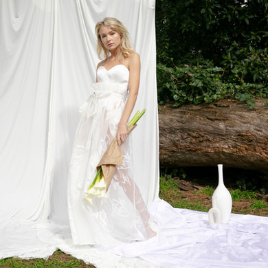 Blanche Corset, Fleur Skirt