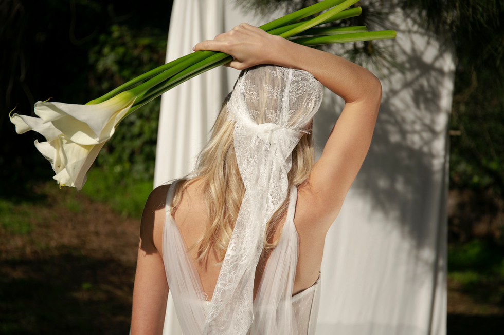 Bridal Lace Headpiece