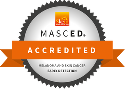 MASCED showing accreditation