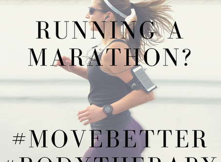 Running the London Marathon?