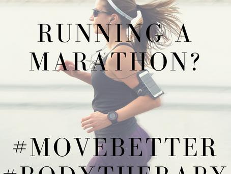 Running the London Marathon?