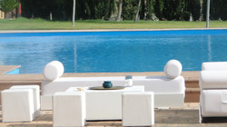 chill out Lounge Blanco