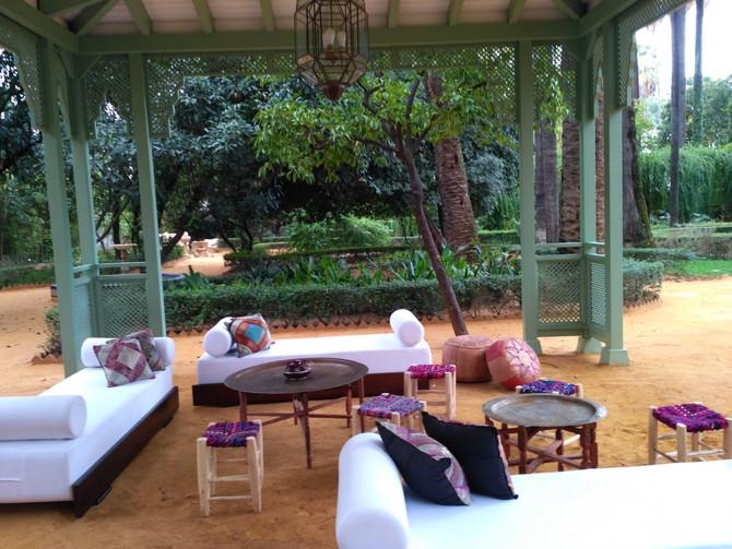 Mobiliario  Árabe en Villa Luisa