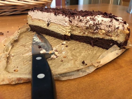 Layers: A Recipe for Tiramisu Cheesecake and What Else Can Be Made of Liquor, Language and Love.