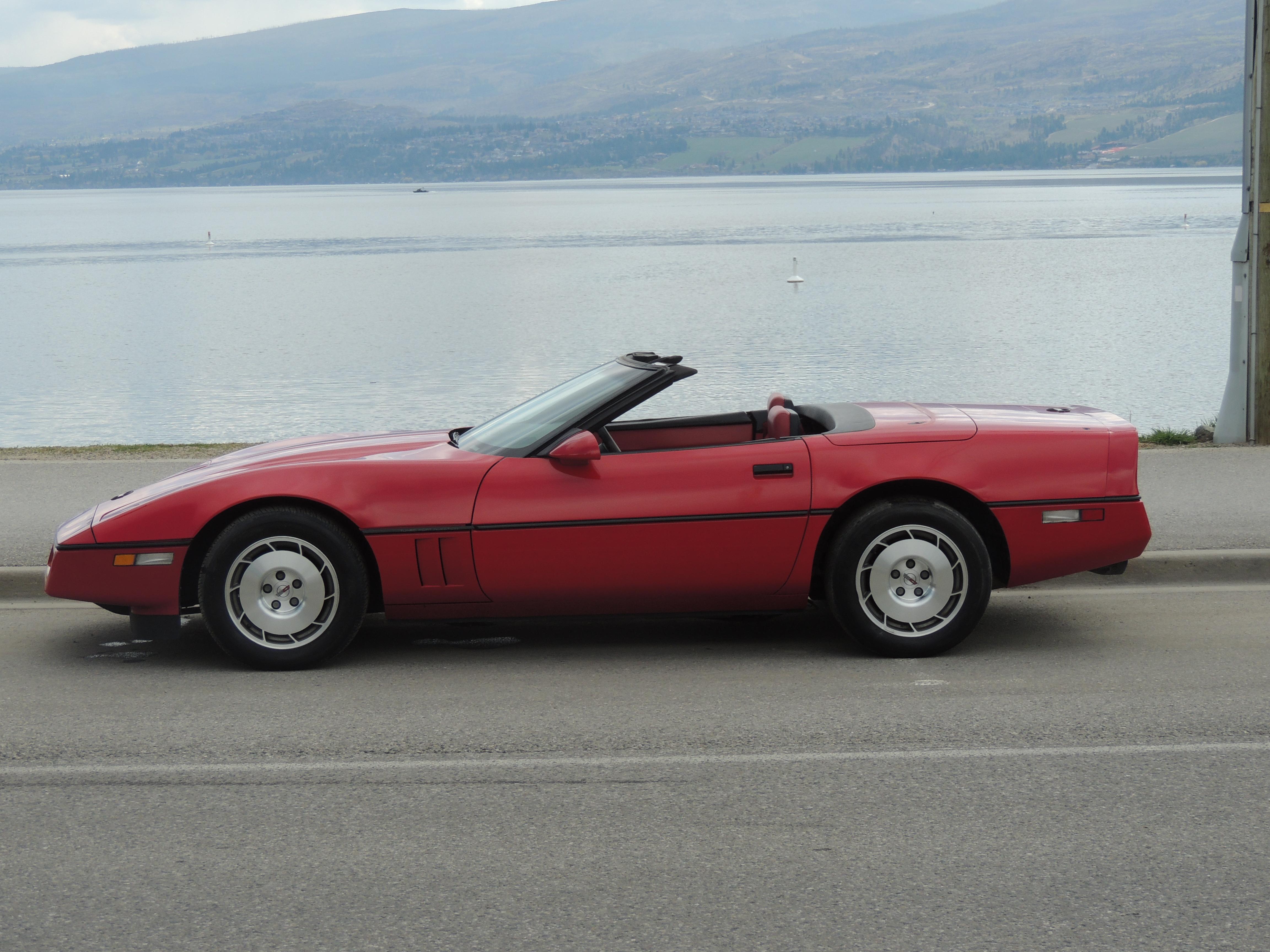 1986 Corvette Convertible