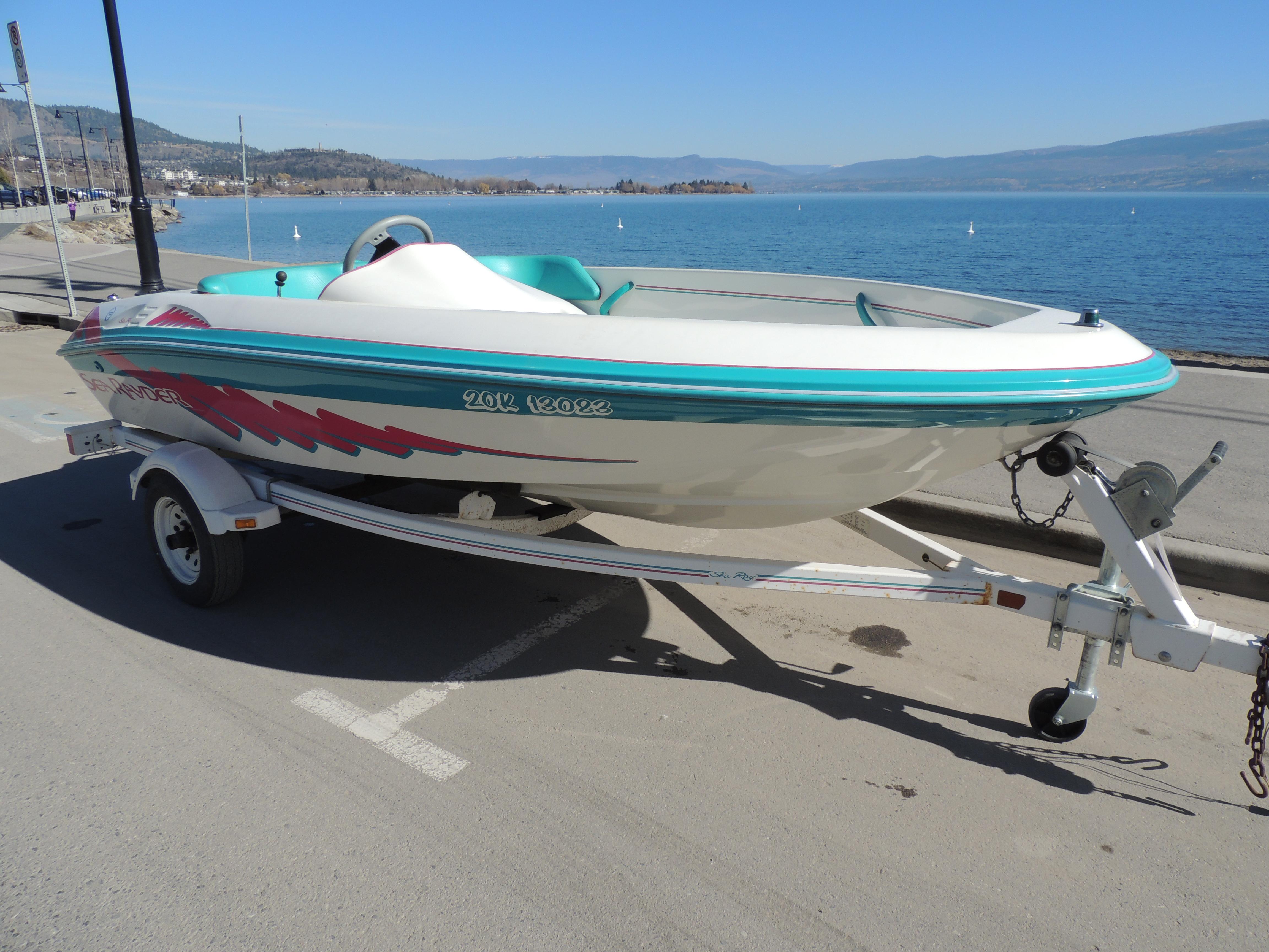 1994 Sea Ray Sea Rayder | New boats, Boat sales, Parts, Accessories