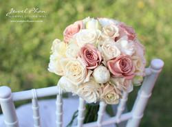 Phoebe Nude Bridesmaid Bouquet