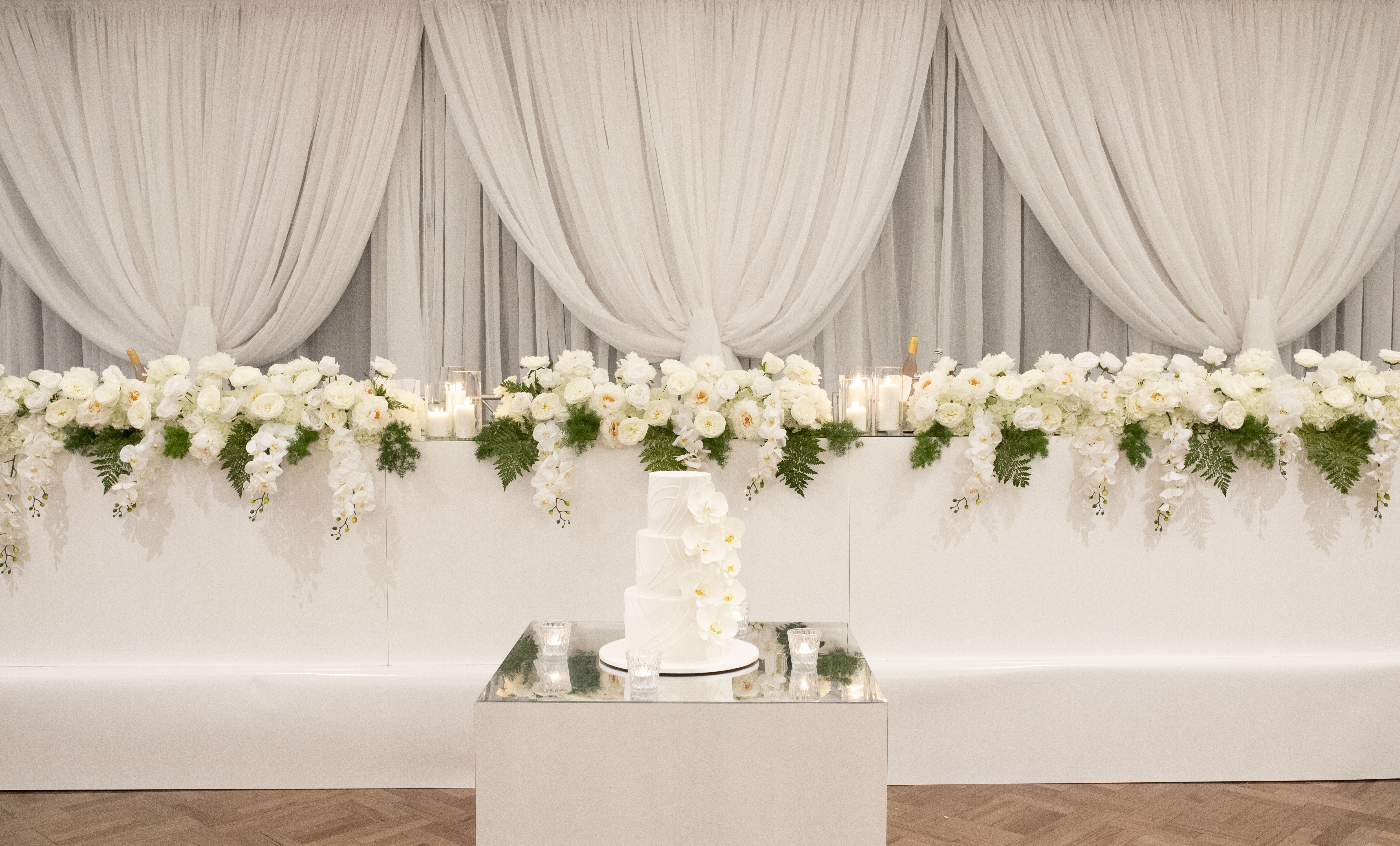 Claudia & Aldo Bridal Table