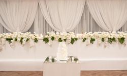 Claudia & Aldo Bridal Table